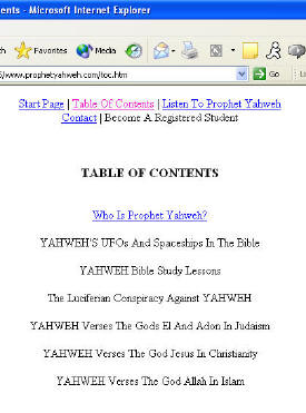 Prophet Yahweh - EXPOSE' of the UFO Seer and Summoner